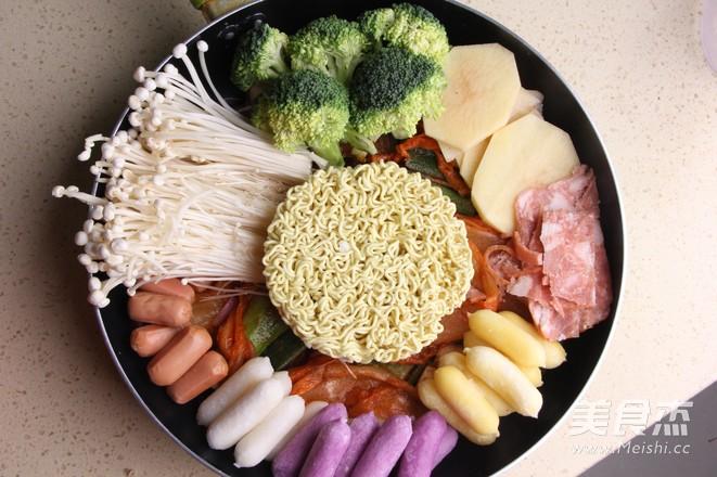 韩式年糕火锅怎么做