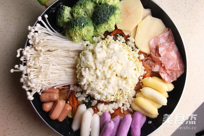 韩式年糕火锅怎么炒