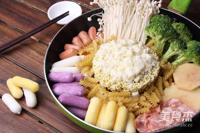 韩式年糕火锅怎么煮