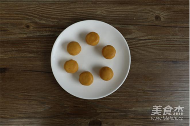 中秋新品~奶黄流心月饼的步骤