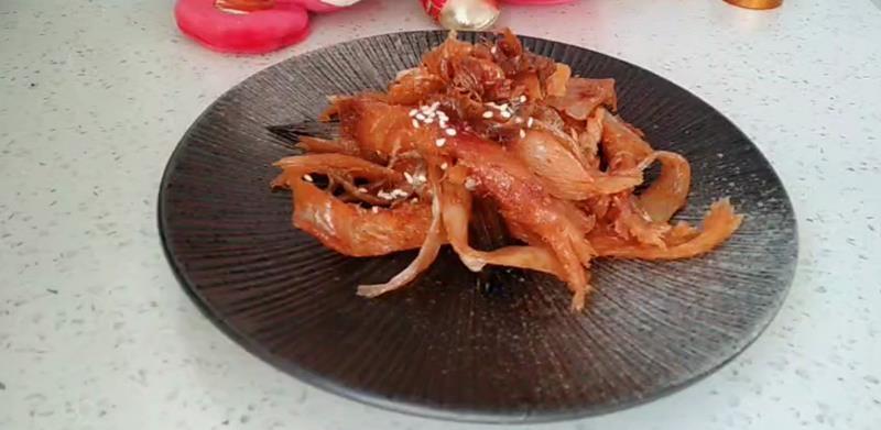红红火火辣拌明太鱼怎么煮