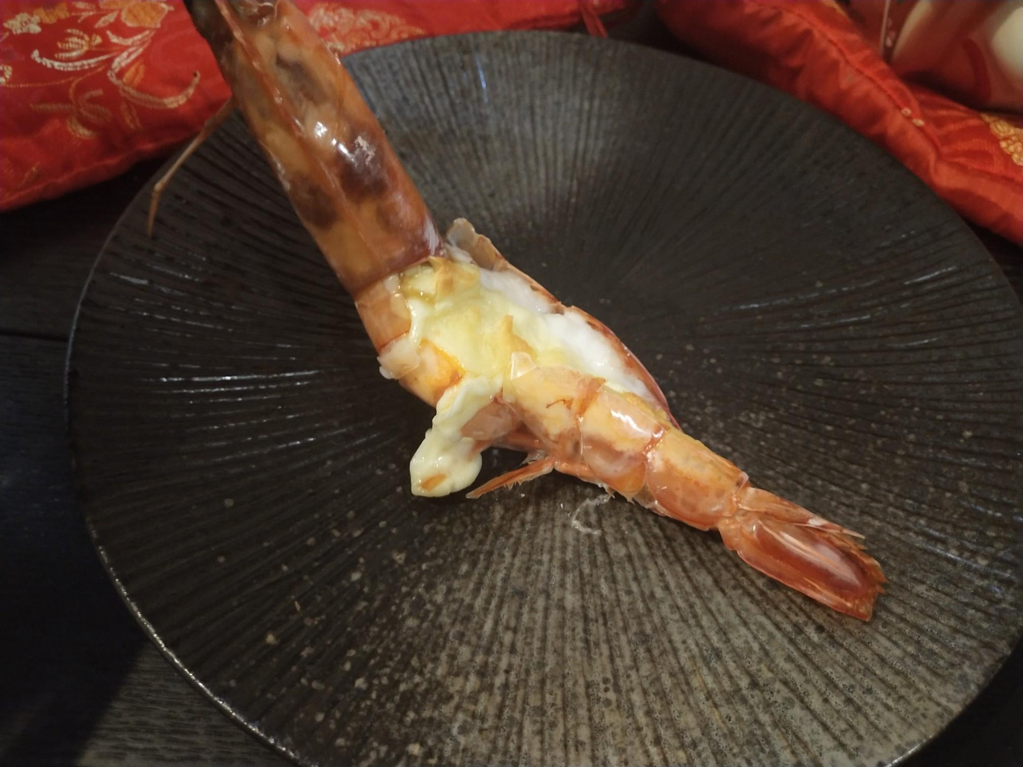 阿根廷红虾的做法_芝士焗阿根廷红虾的做法【步骤图】_菜谱_美食杰