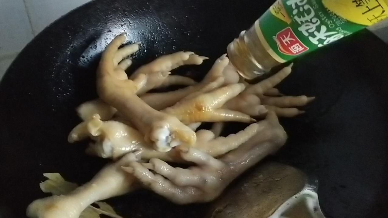 红烧鸡爪怎么做