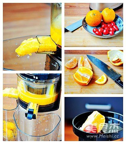 橘子番茄汁的做法大全