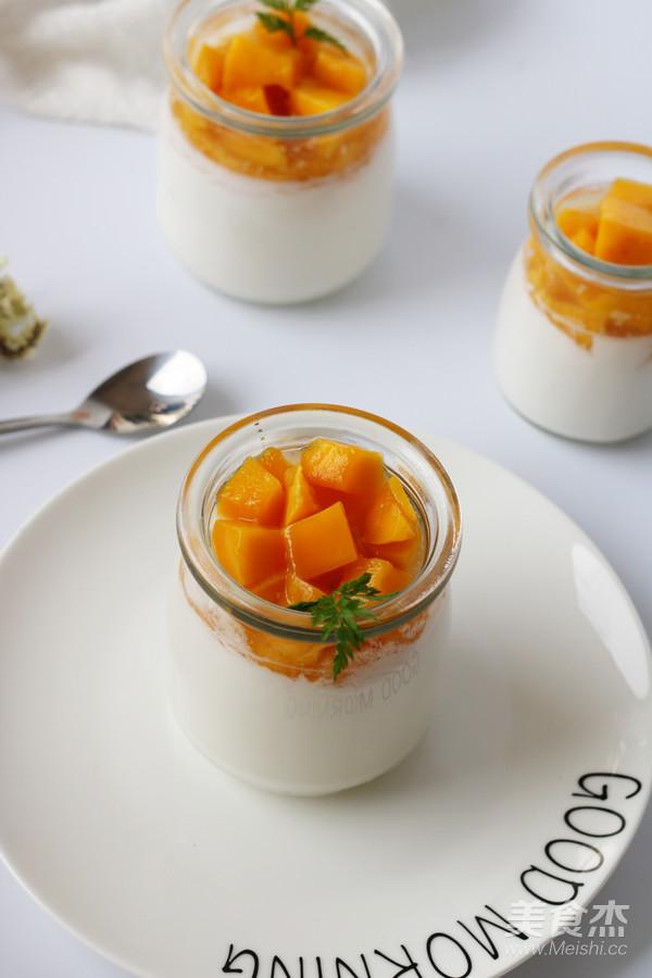 芒果酸奶(奶粉版)成品圖