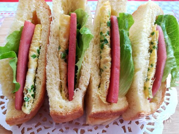 口袋三明治的制作方法