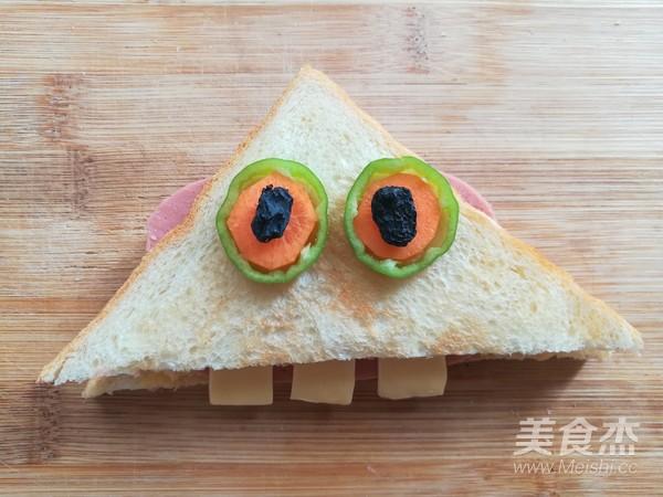 百变大眼怪三明治怎样炒