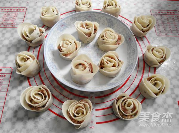玫瑰花饺子怎么煸