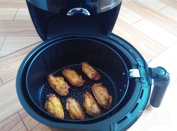 新奥尔良烤鸡翅(空气炸锅版)怎么煮