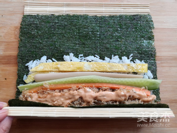 金顶寿司怎么煮
