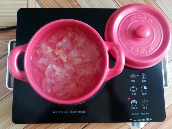 紫薯银耳糖水怎么煮