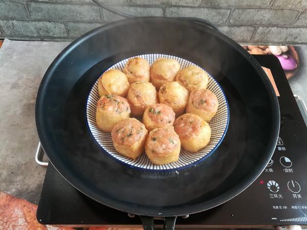 酿油豆腐——团团圆圆的制作
