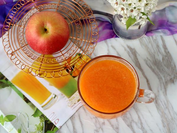 胡萝卜苹果汁怎样做