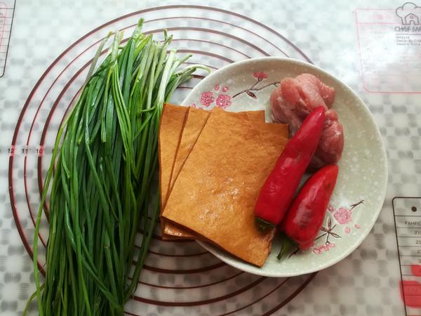 野葱肉丝炒香干的做法大全