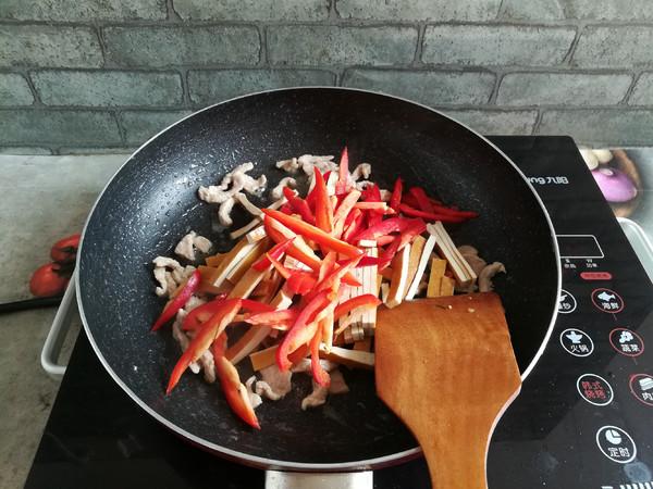 野葱肉丝炒香干怎么煮