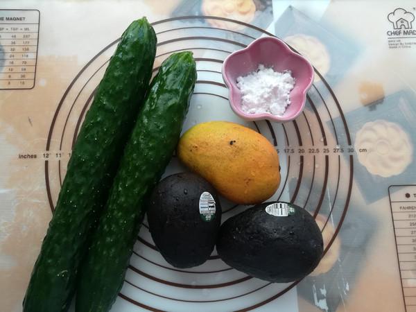 牛油果黄瓜卷的做法大全