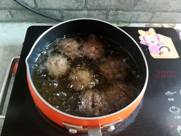 油炸牛肉丸怎么做