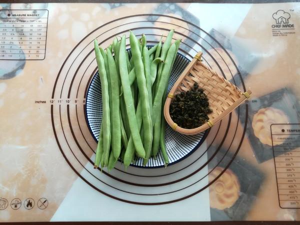 茶香四季豆的做法大全