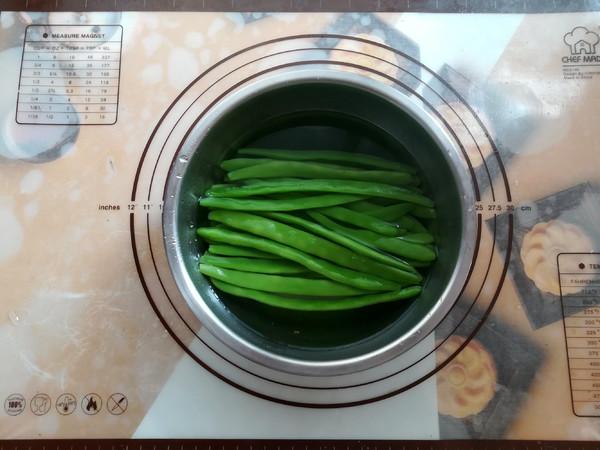 茶香四季豆怎么做
