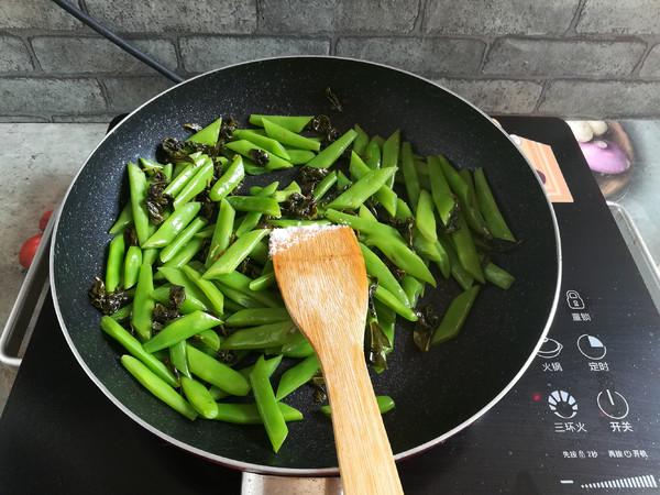 茶香四季豆怎么煸