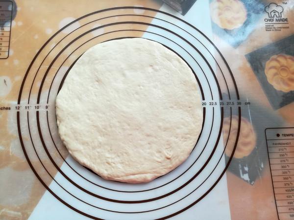 骨肉相连披萨的步骤