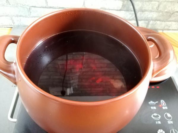 冰镇酸梅汤的步骤
