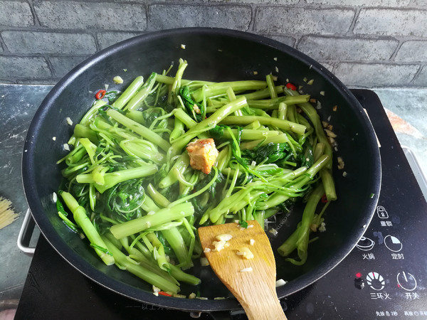 腐乳蒜蓉空心菜怎么煮