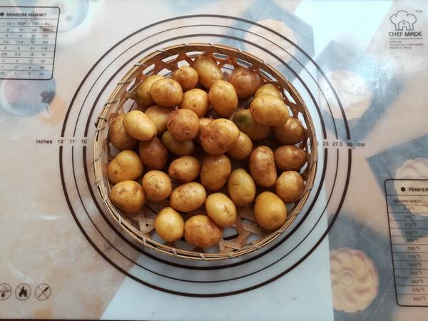 孜然小土豆的做法大全