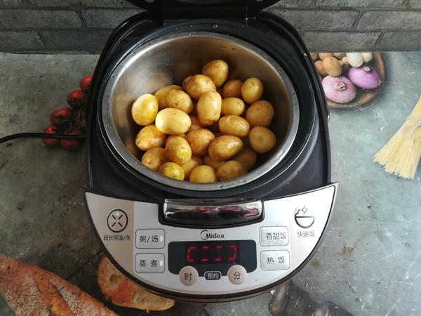 孜然小土豆的步骤