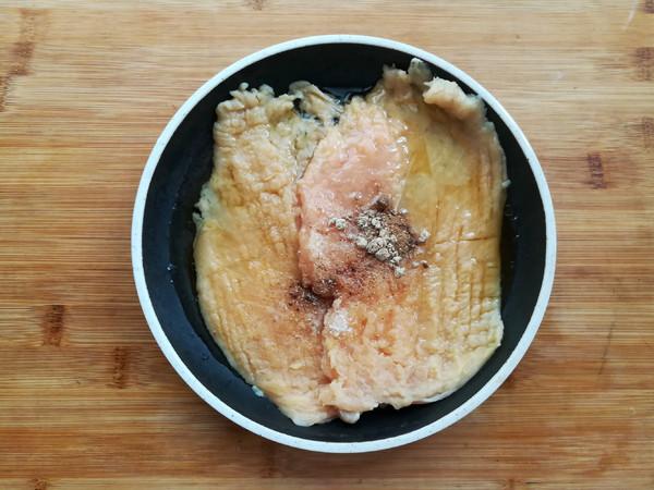 香酥鸡排(非油炸)的简单做法