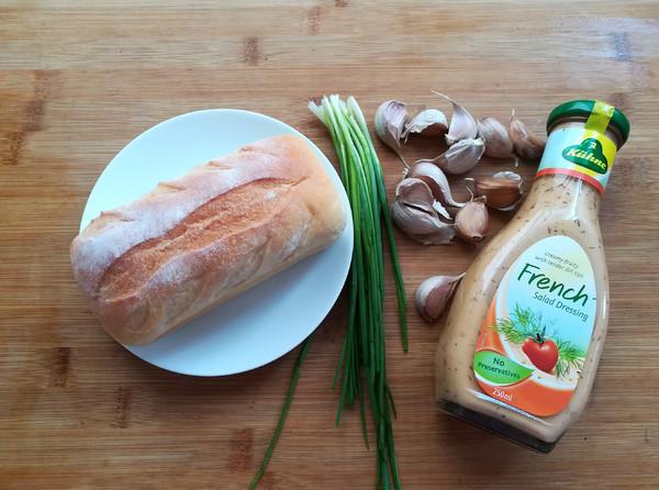 法式蒜香面包片的做法大全