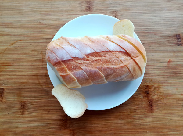 法式蒜香面包片的做法图解