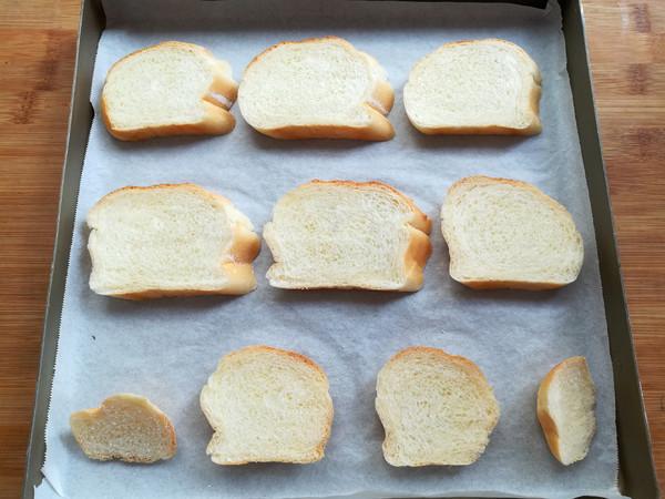 法式蒜香面包片怎么做