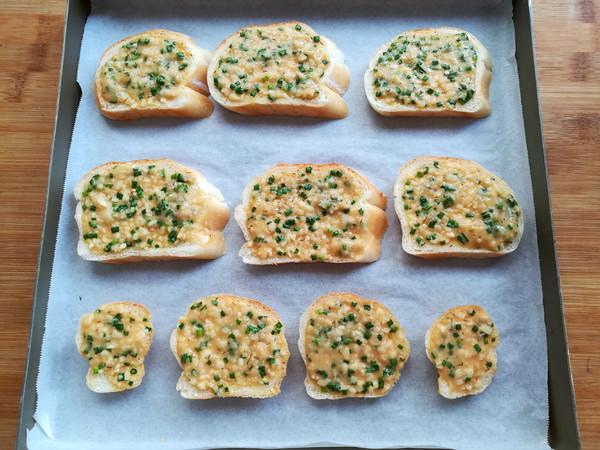 法式蒜香面包片怎么炒