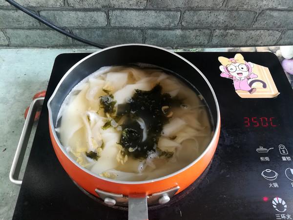酸汤面片的简单做法