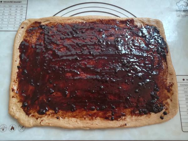 红糖肉桂核桃手撕面包的步骤