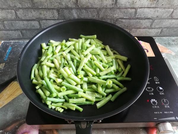 香猪肉炒豆角怎么做