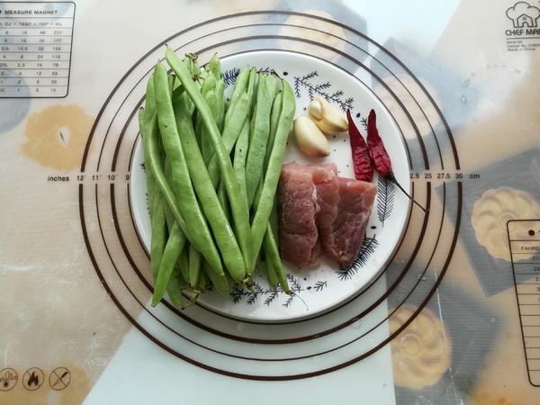 四季豆肉沫的步骤