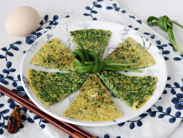 韭菜煎蛋——小白学做饭成品图