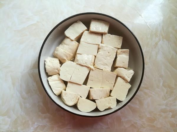 榨菜肉末蒸豆腐的做法图解