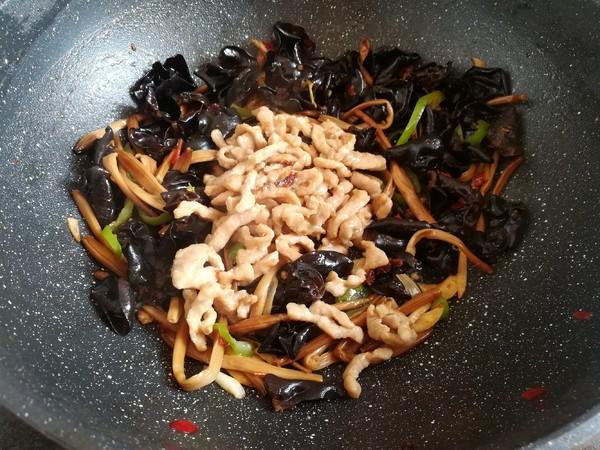 黄花菜木耳肉丝怎样煮