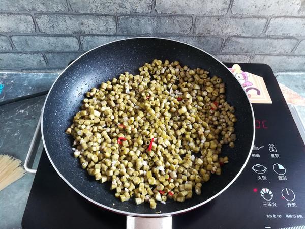 酸豆角肉沫的简单做法