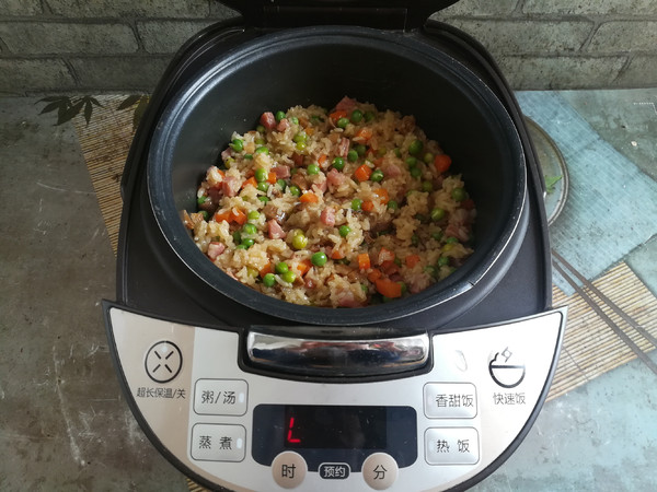 香肠糯米饭怎么煮