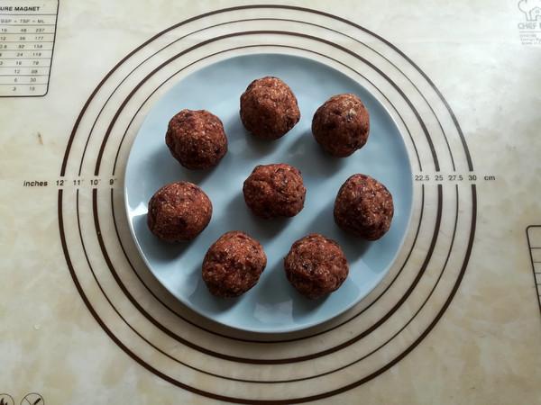 南瓜椰蓉红豆包的简单做法