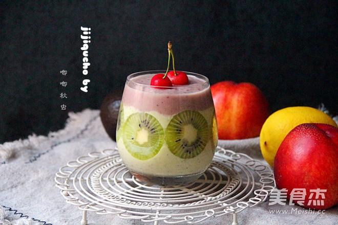 牛果油综合水果沙冰成品图