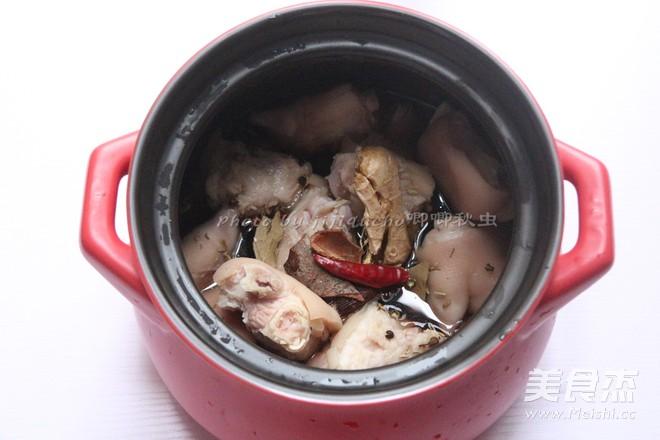 少油版的脆皮五香猪蹄的做法图解