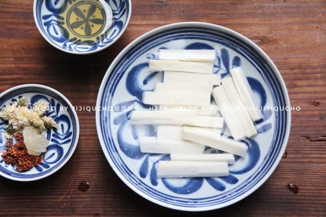 蜜汁桂菊山药的家常做法
