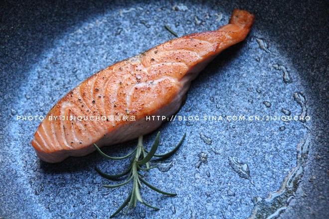 藜麦牛油果三文鱼沙拉的步骤