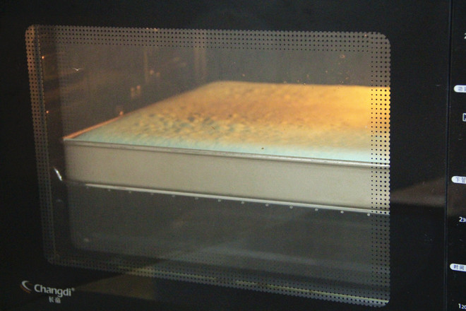 蝶豆花蛋糕卷怎样煸