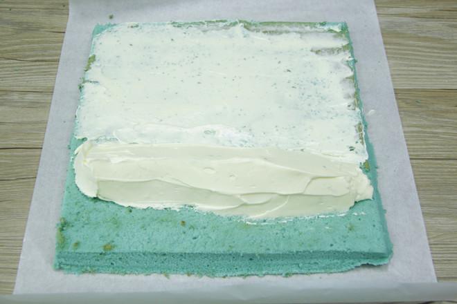 蝶豆花蛋糕卷怎样煮